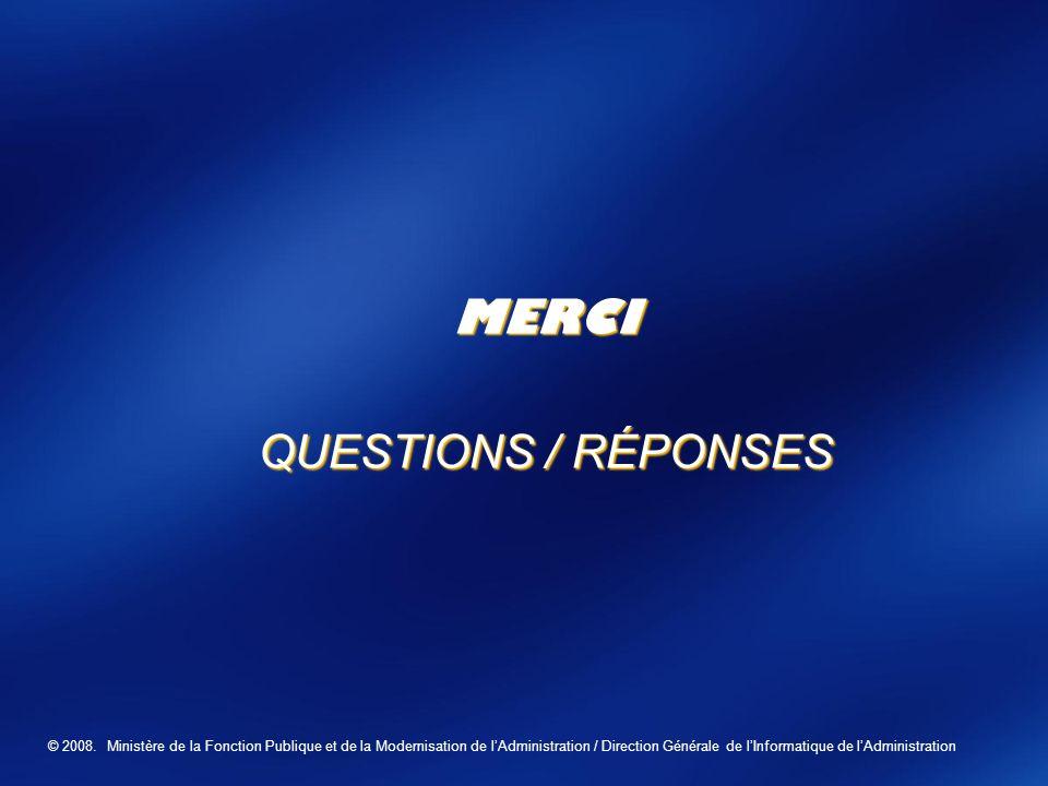 MERCI QUESTIONS / RÉPONSES Business Value Launch 2006