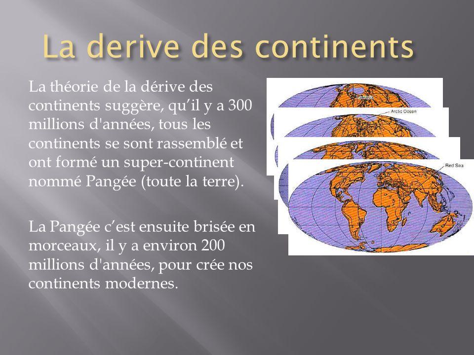 La derive des continents