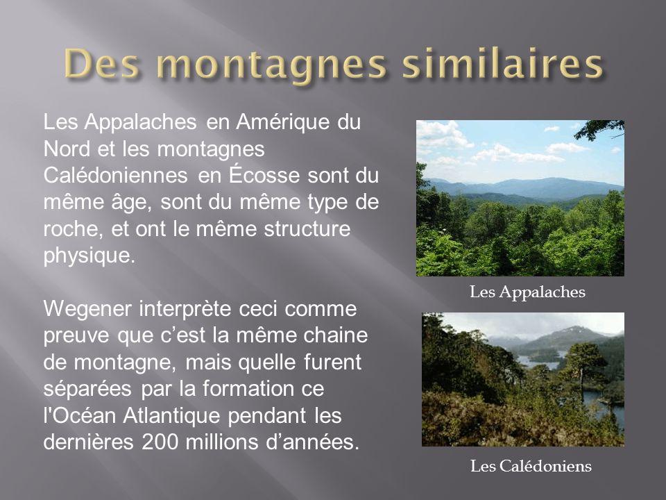Des montagnes similaires