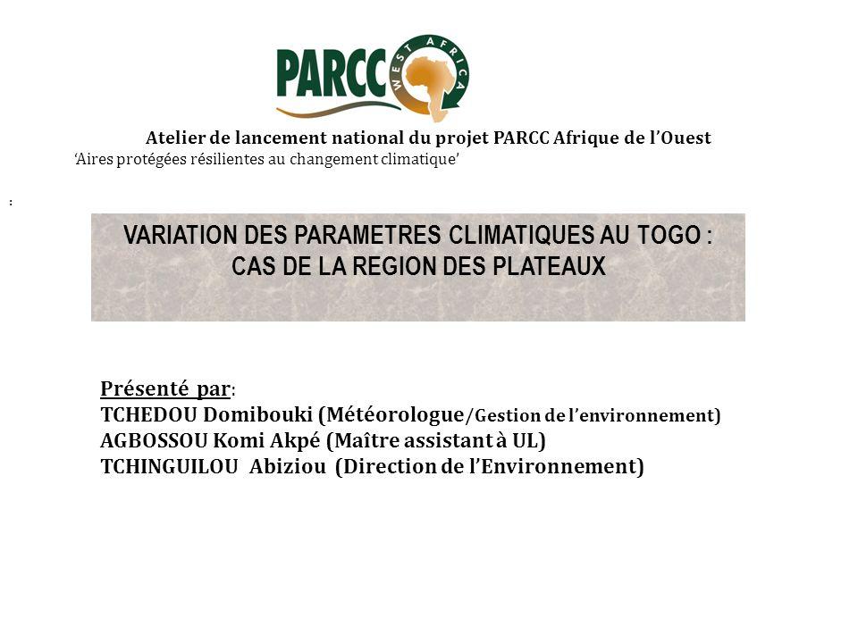 CAS DE LA REGION DES PLATEAUX