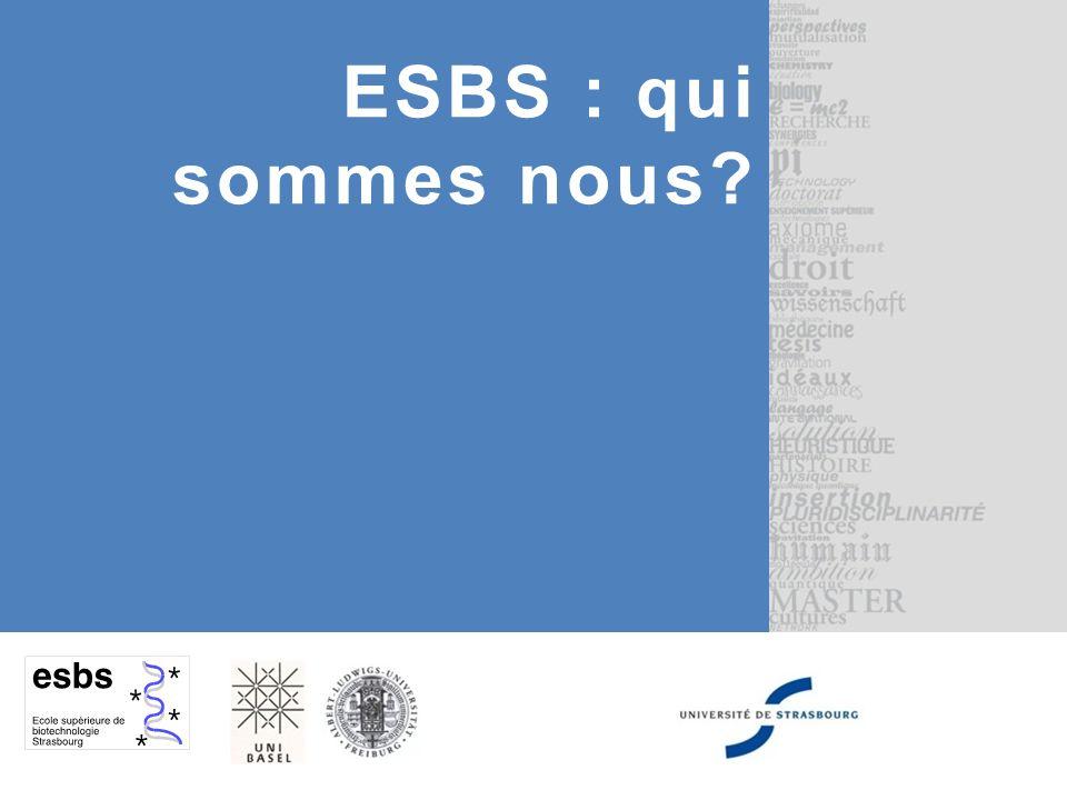 ESBS : qui sommes nous