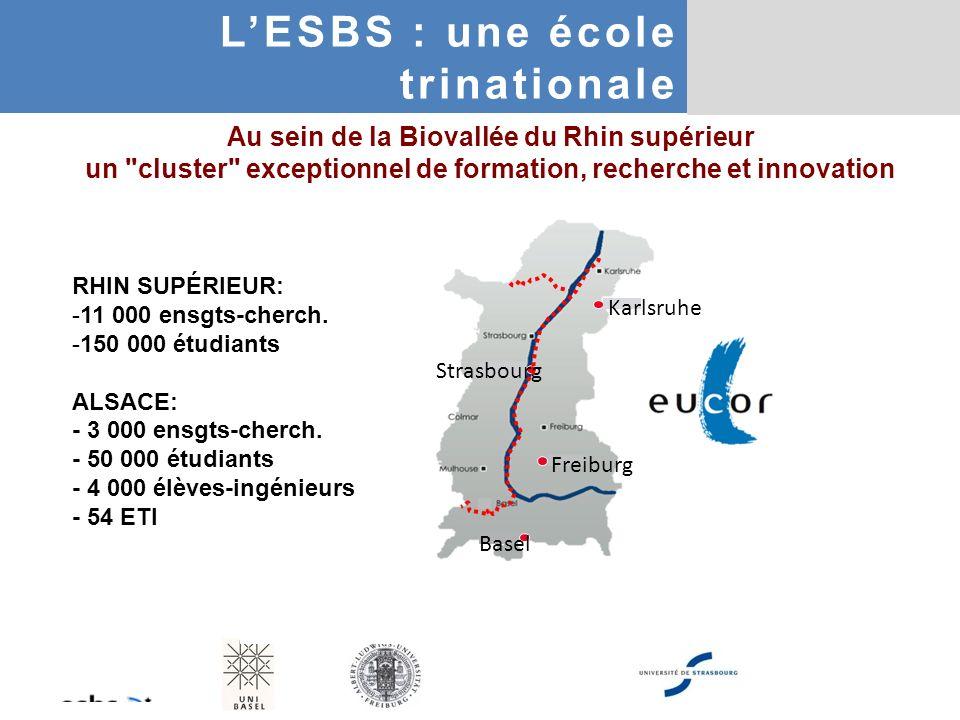 L'ESBS : une école trinationale