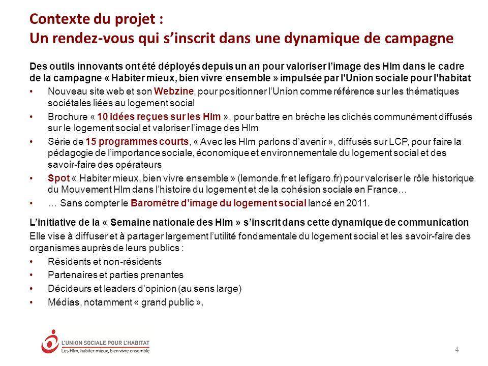Contexte du projet : Un rendez-vous qui s'inscrit dans une dynamique de campagne