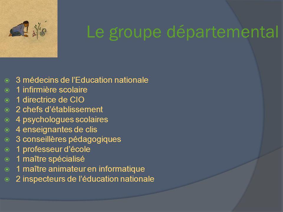 Le groupe départemental