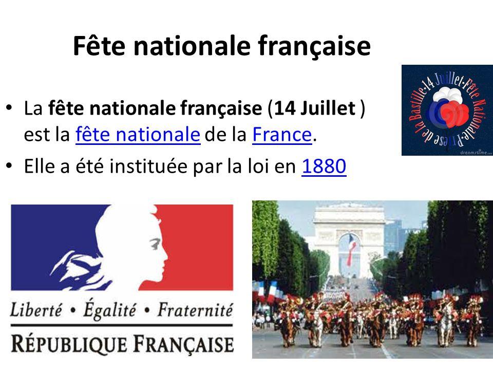 Fête nationale française