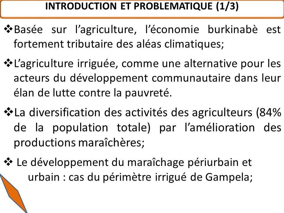 INTRODUCTION ET PROBLEMATIQUE (1/3)