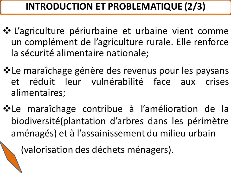INTRODUCTION ET PROBLEMATIQUE (2/3)