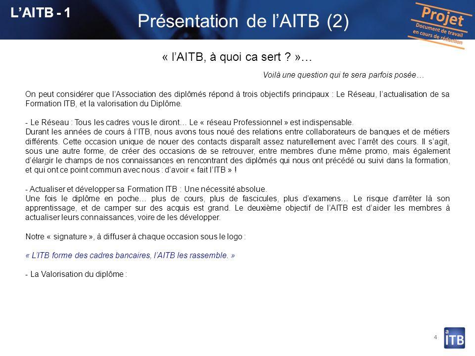 Présentation de l'AITB (2)