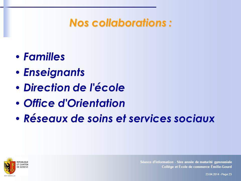Réseaux de soins et services sociaux