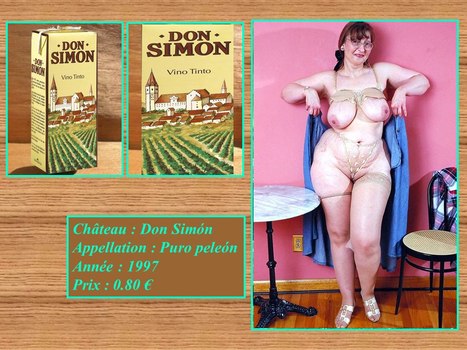 Château : Don Simón Appellation : Puro peleón Année : 1997 Prix : 0.80 €
