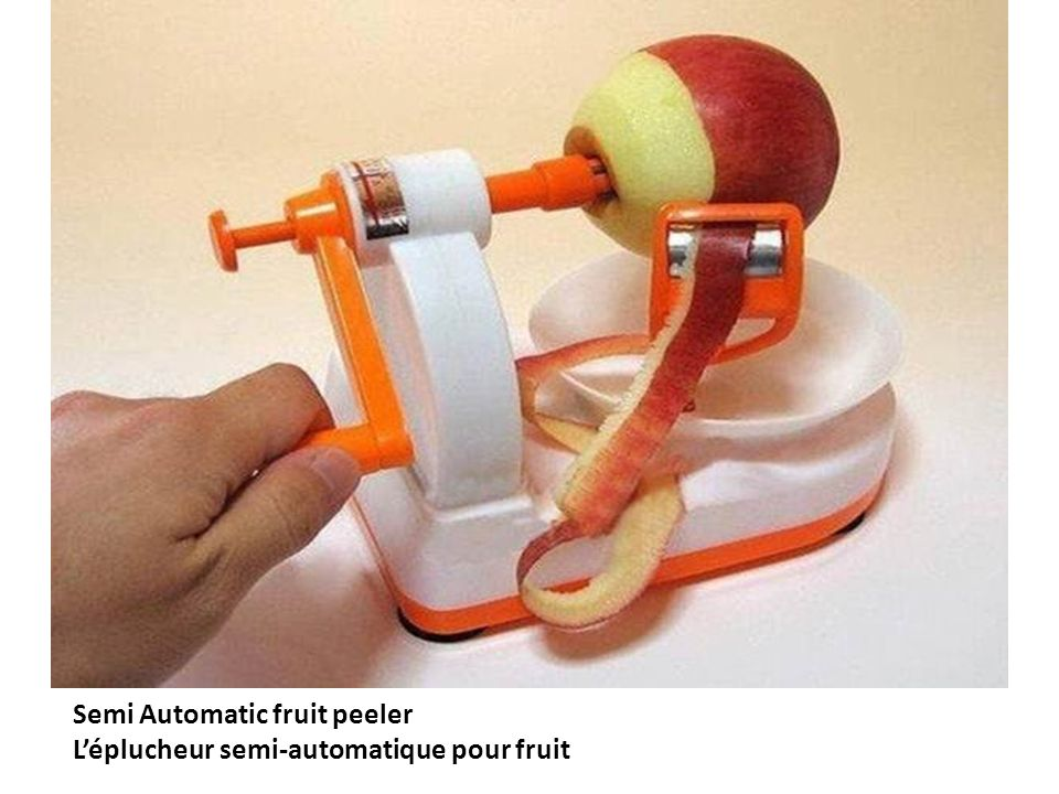 Semi Automatic fruit peeler