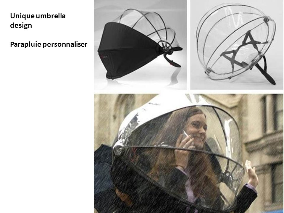 Unique umbrella design