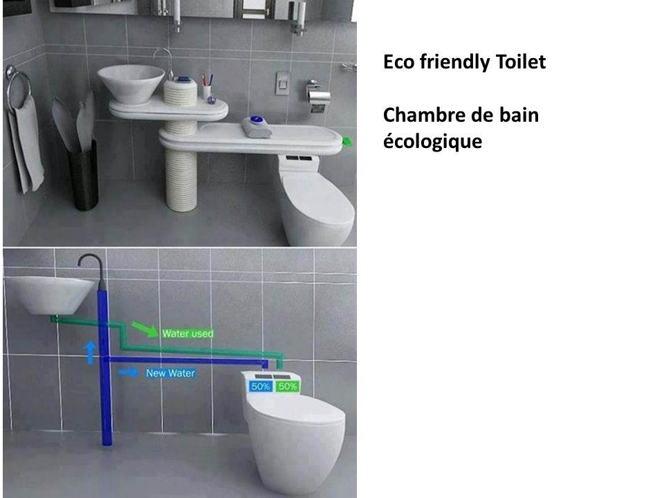Eco friendly Toilet Chambre de bain écologique