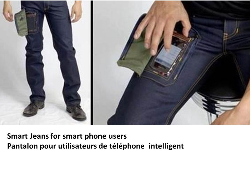 Smart Jeans for smart phone users