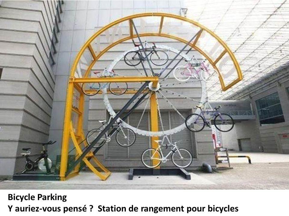 Bicycle Parking Y auriez-vous pensé Station de rangement pour bicycles