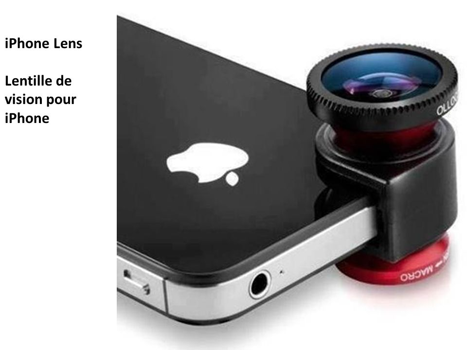 iPhone Lens Lentille de vision pour iPhone