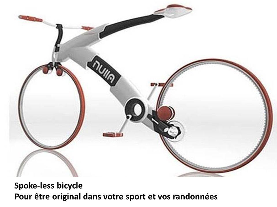 Spoke-less bicycle Pour être original dans votre sport et vos randonnées