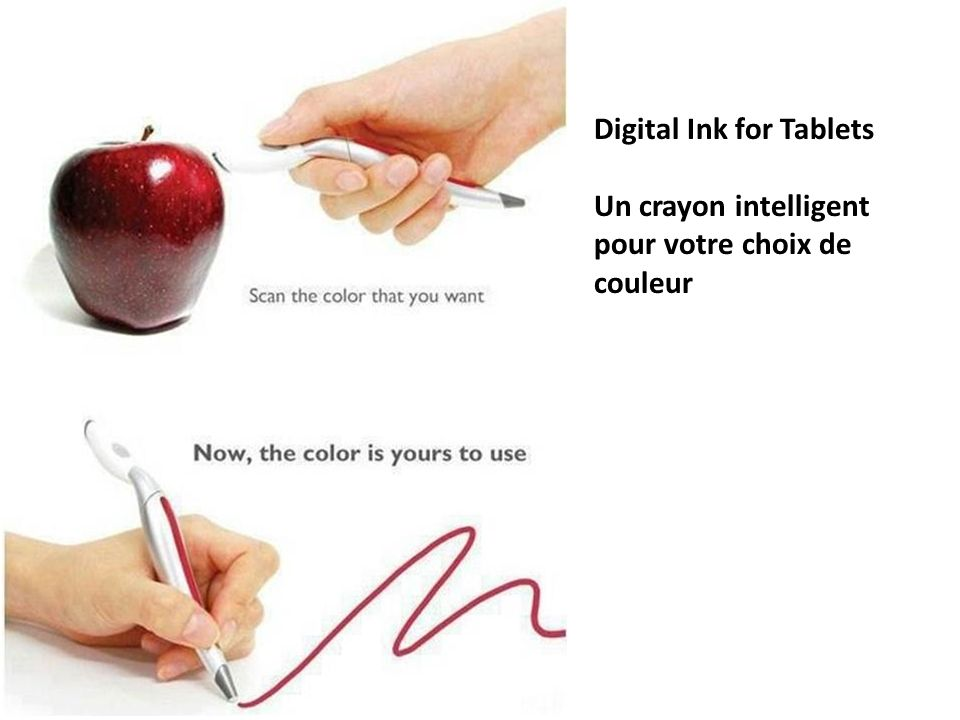Digital Ink for Tablets