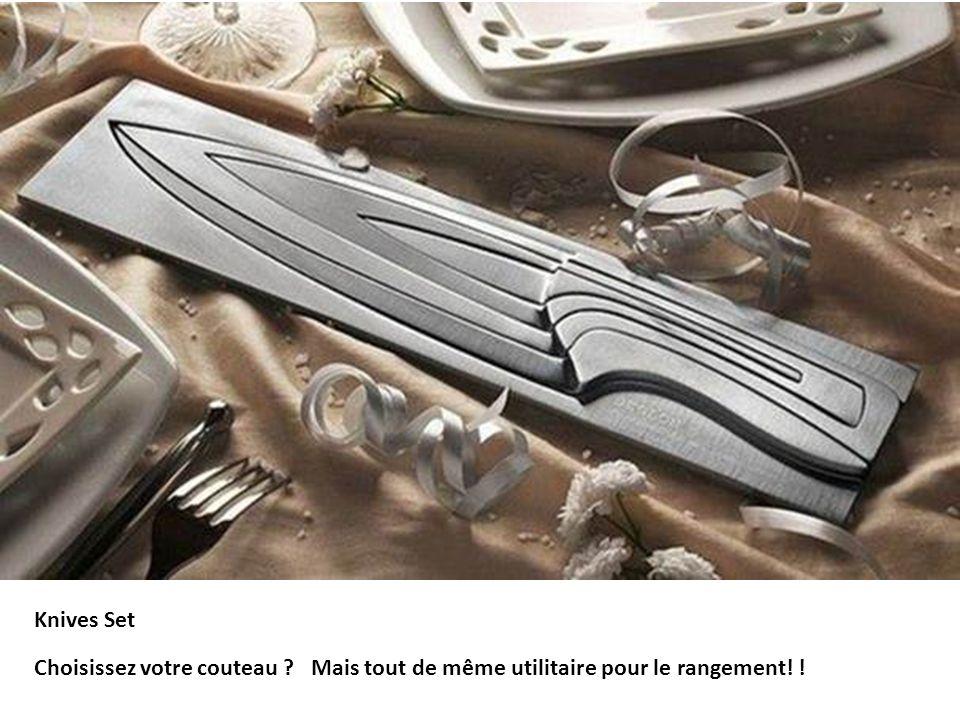 Knives Set Choisissez votre couteau Mais tout de même utilitaire pour le rangement! !