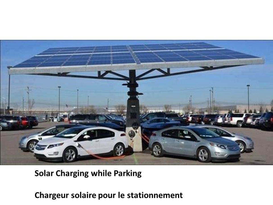 Solar Charging while Parking