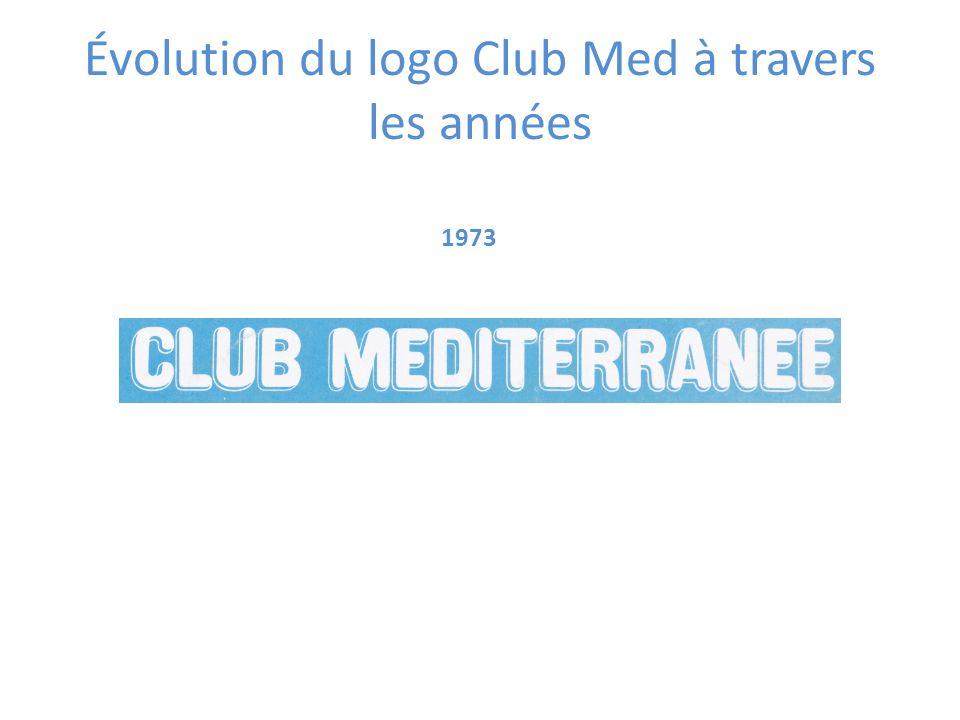 Évolution du logo Club Med à travers les années