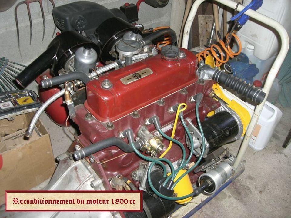 Reconditionnement du moteur 1800 cc