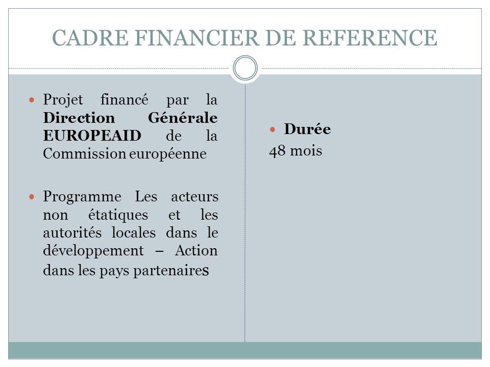 CADRE FINANCIER DE REFERENCE