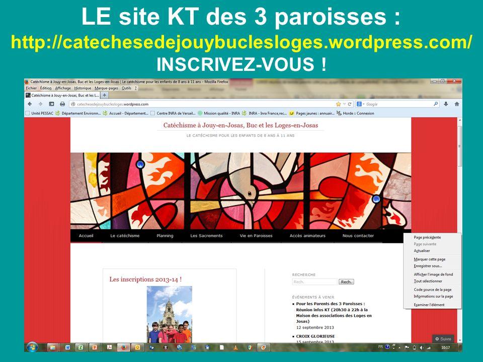 LE site KT des 3 paroisses : http://catechesedejouybuclesloges