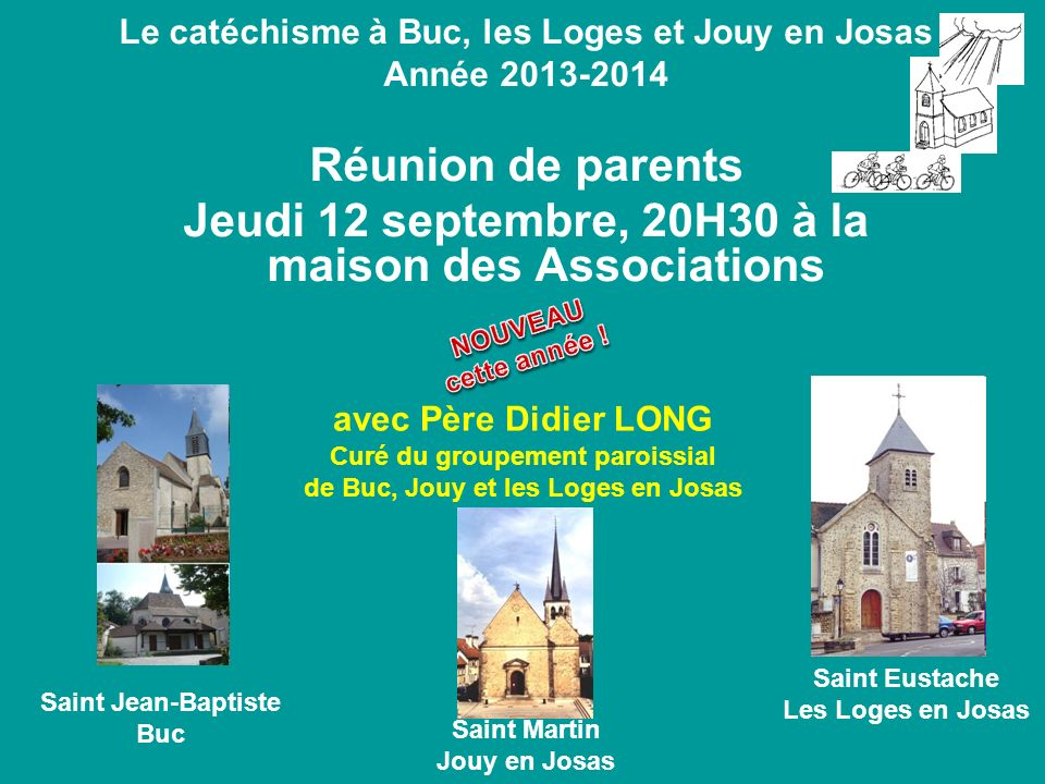 Jeudi 12 septembre, 20H30 à la maison des Associations