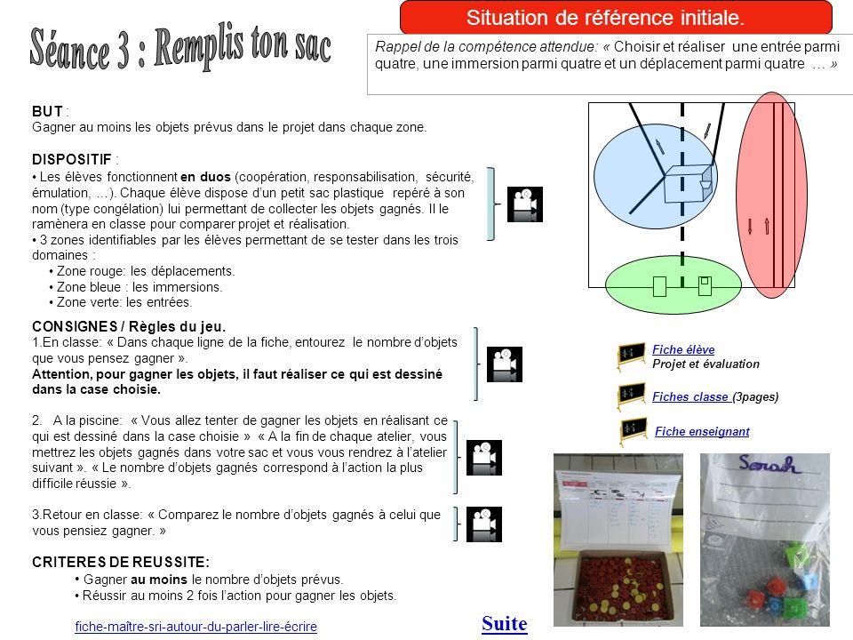 Séance 3 : Remplis ton sac