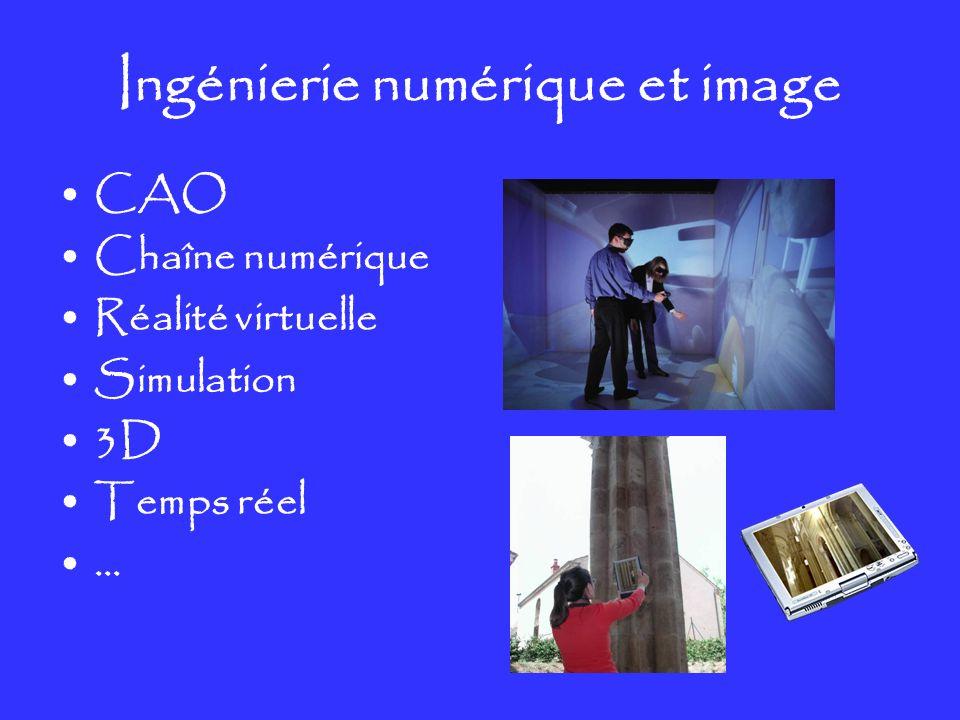 Ingénierie numérique et image