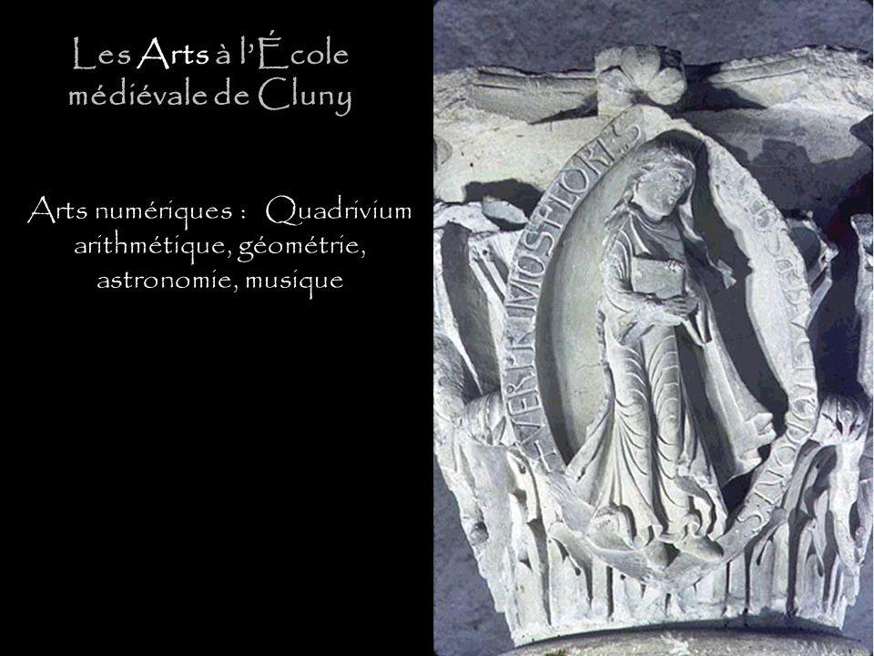 Les Arts à l'École médiévale de Cluny