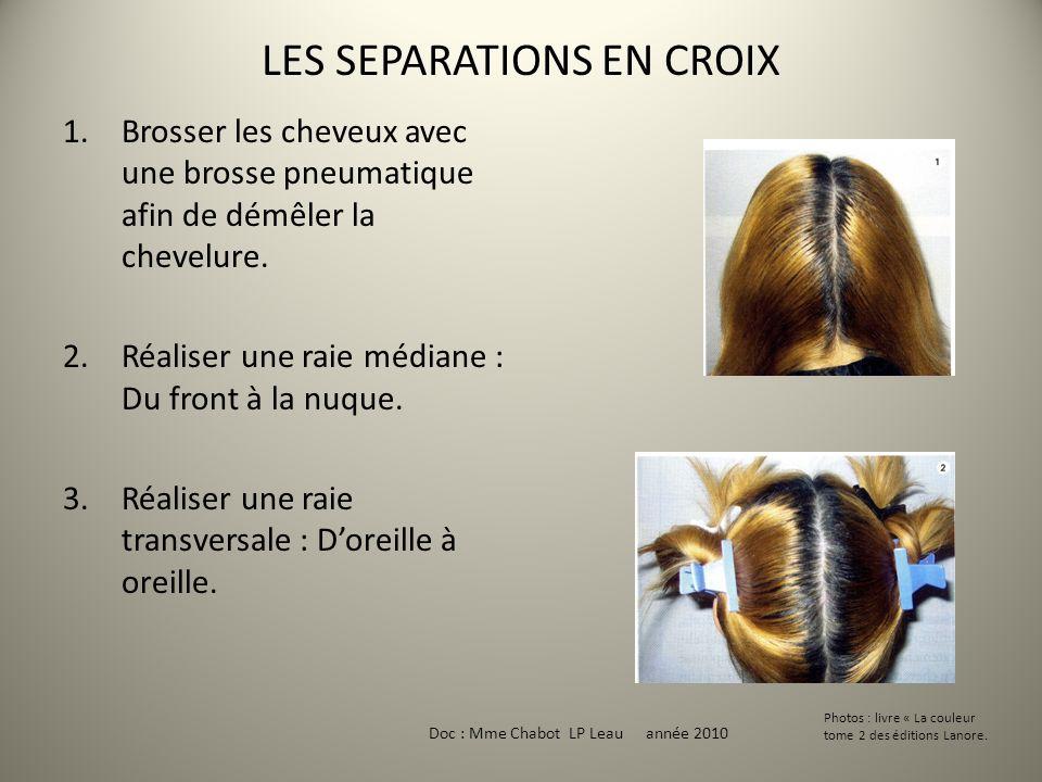 LES SEPARATIONS EN CROIX