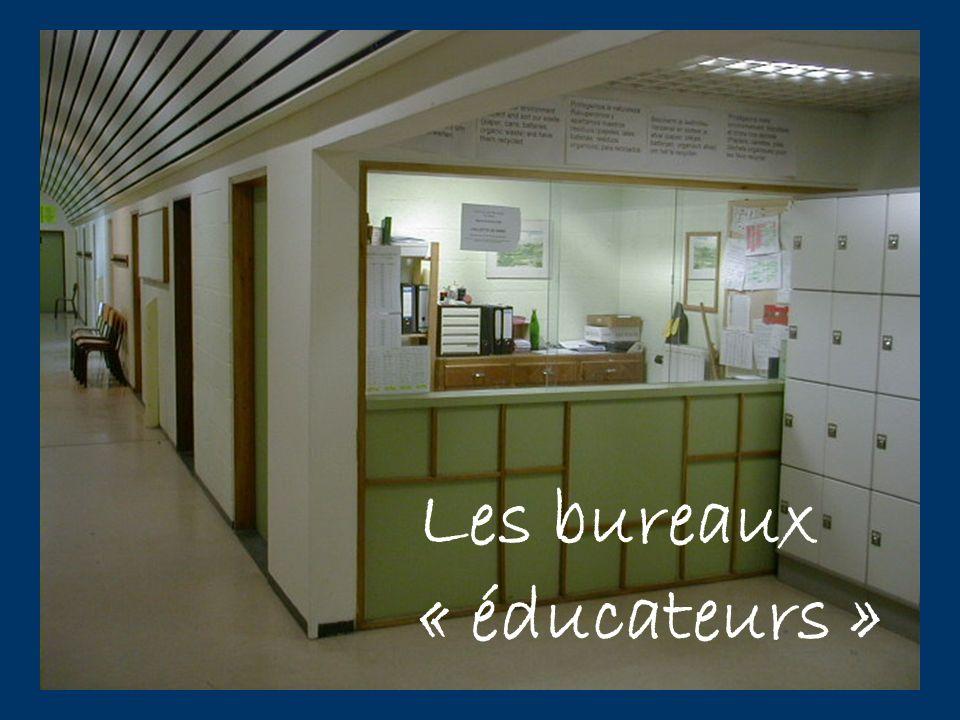 Les bureaux « éducateurs »