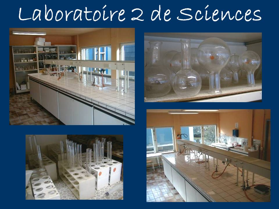 Laboratoire 2 de Sciences