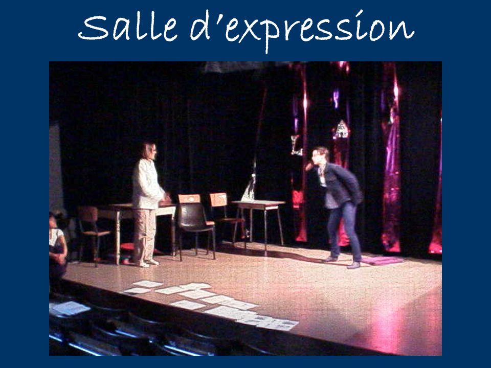Salle d'expression