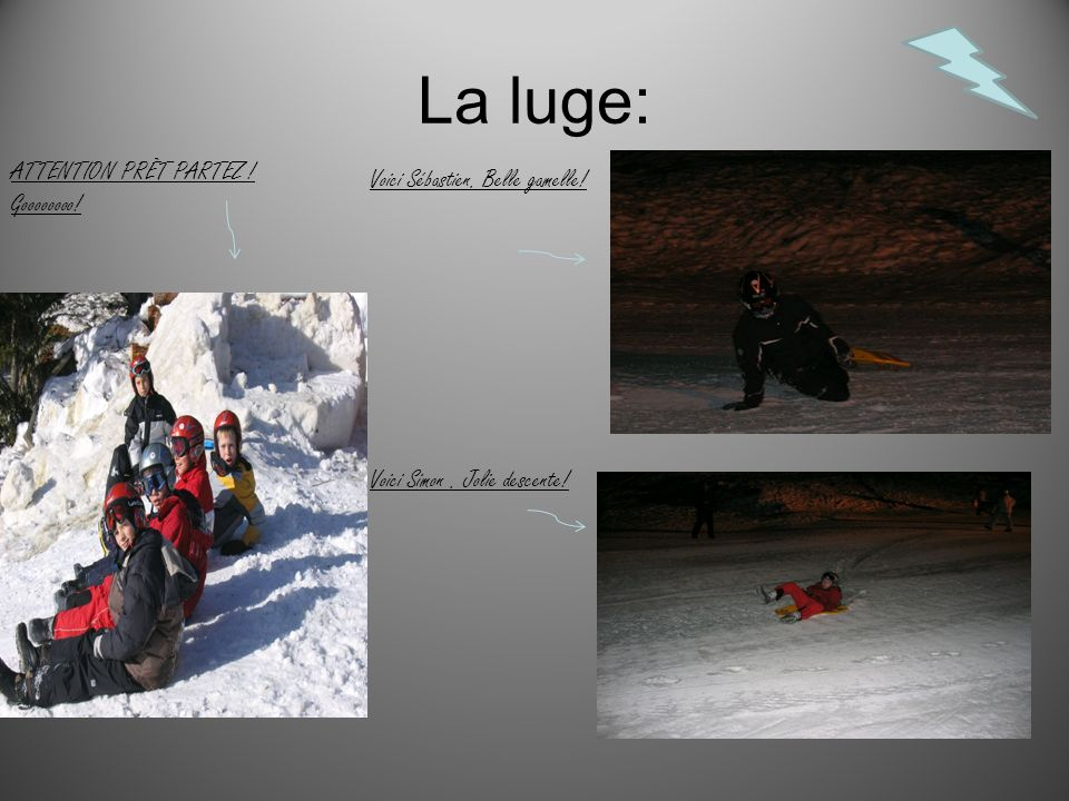 La luge: ATTENTION PRÊT PARTEZ ! Goooooooo!