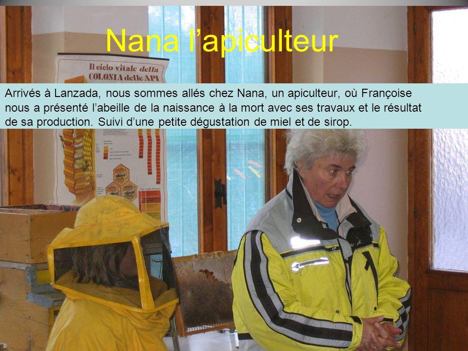 Nana l'apiculteur Arrivés à Lanzada, nous sommes allés chez Nana, un apiculteur, où Françoise.