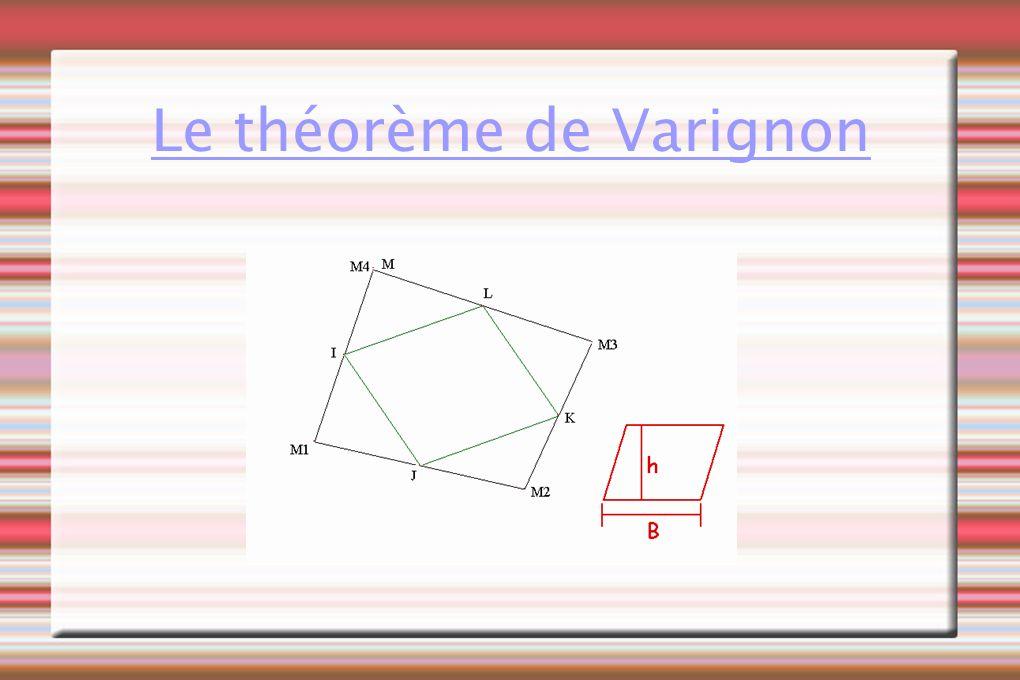 Le théorème de Varignon