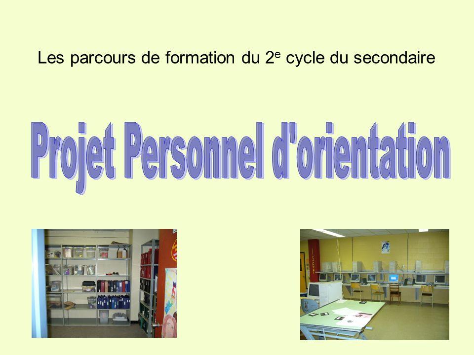 Projet Personnel d orientation