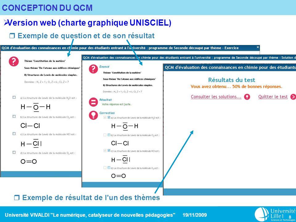 Version web (charte graphique UNISCIEL)