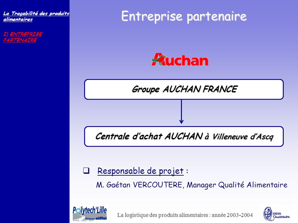 Centrale d'achat AUCHAN à Villeneuve d'Ascq
