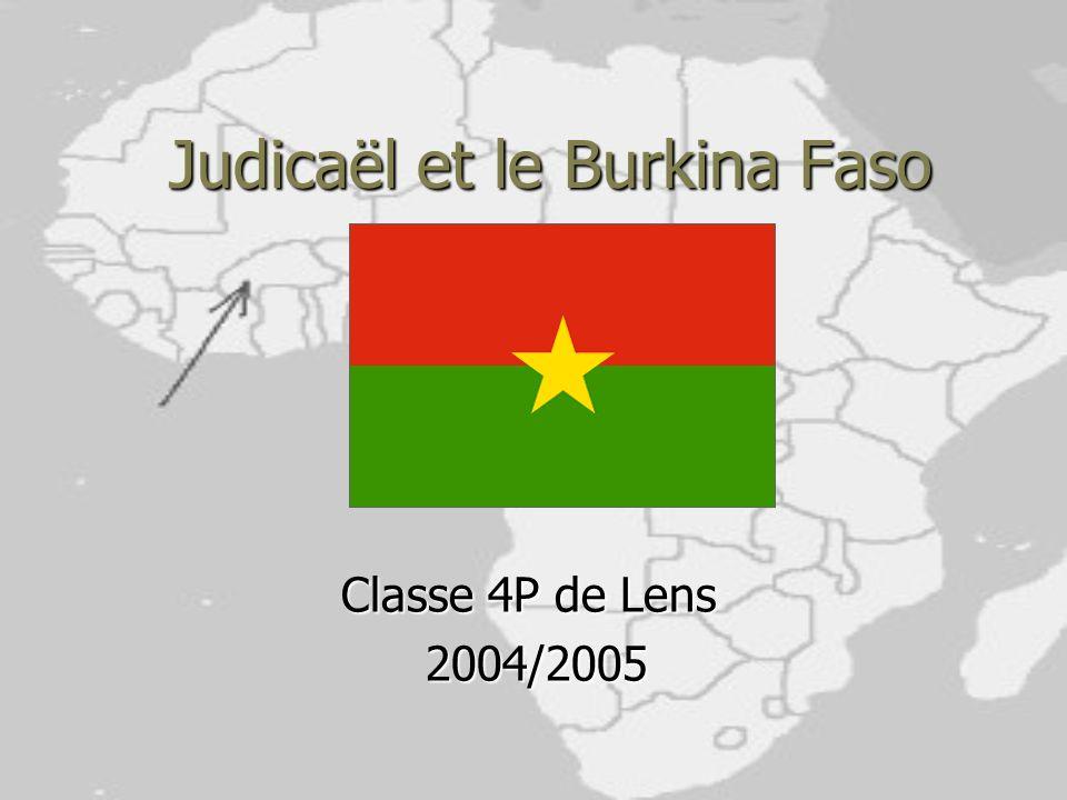 Judicaël et le Burkina Faso