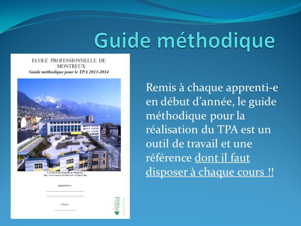 Guide méthodique