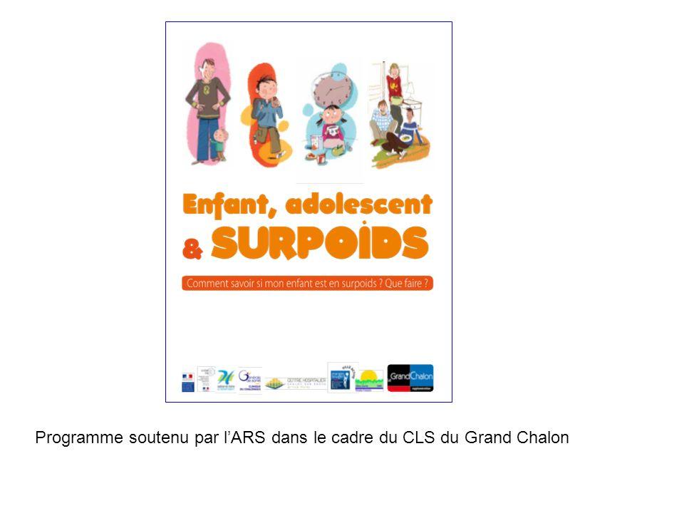 Programme soutenu par l'ARS dans le cadre du CLS du Grand Chalon