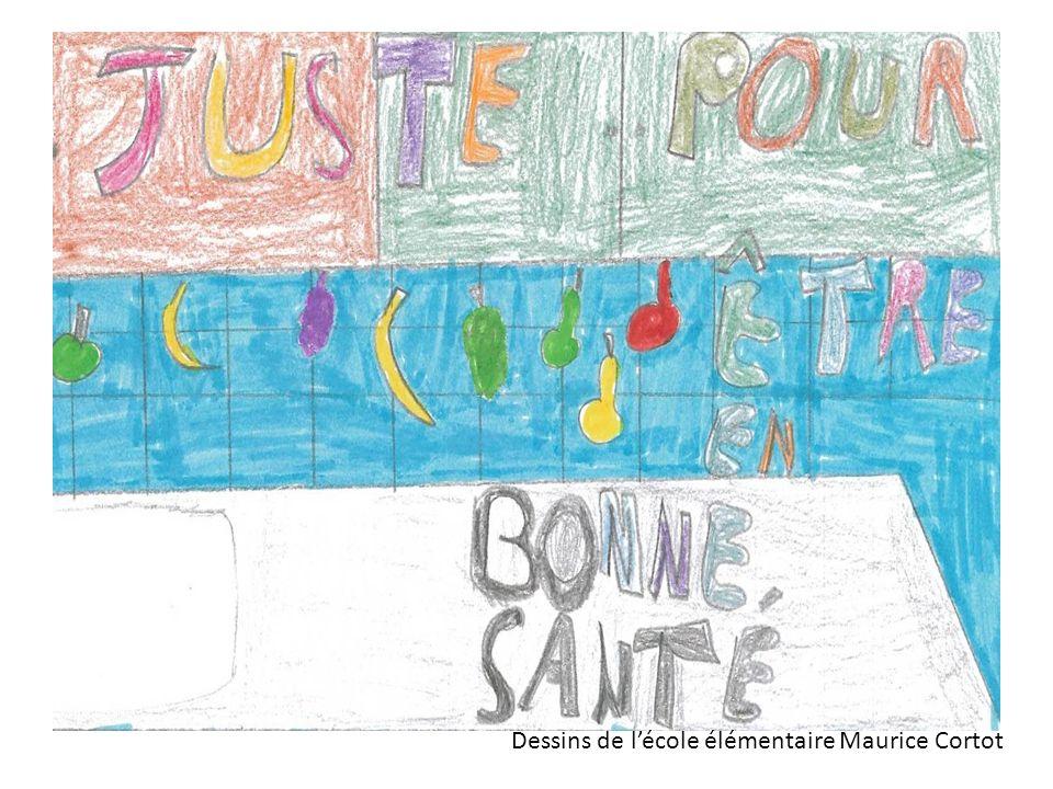 Dessins de l'école élémentaire Maurice Cortot