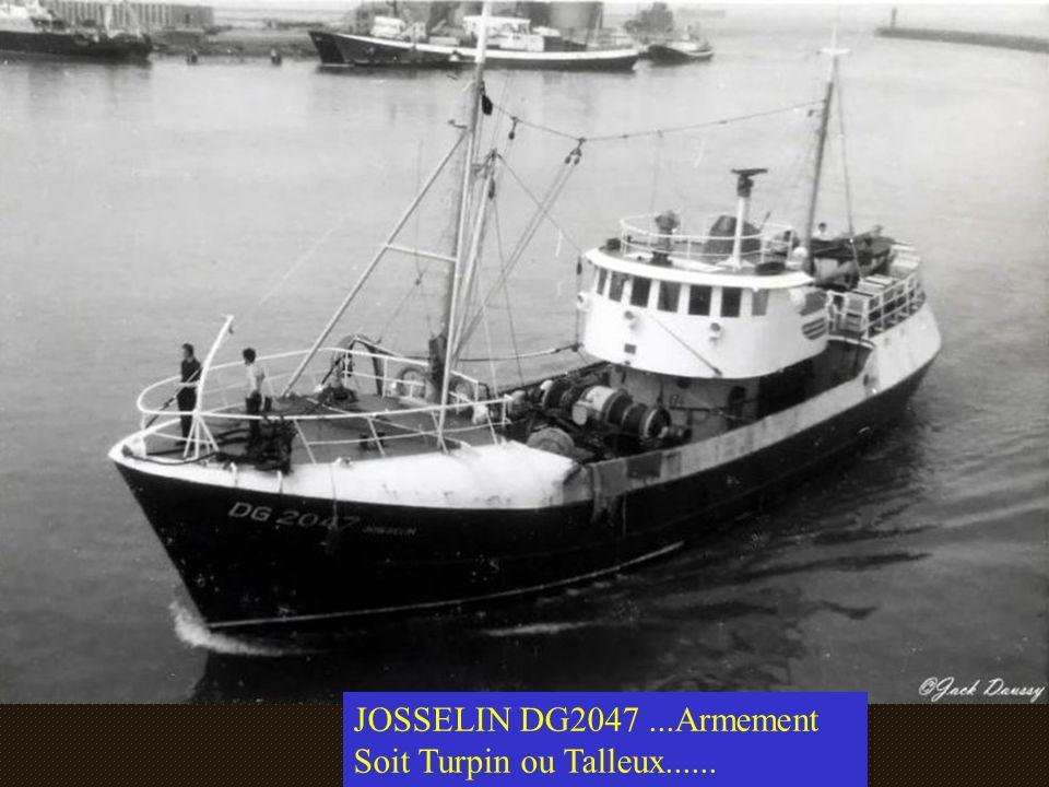 JOSSELIN DG2047 ...Armement Soit Turpin ou Talleux......