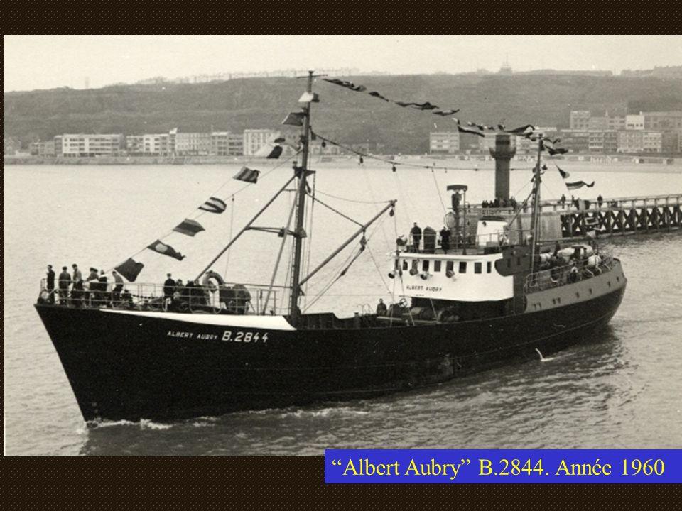 Albert Aubry B.2844. Année 1960