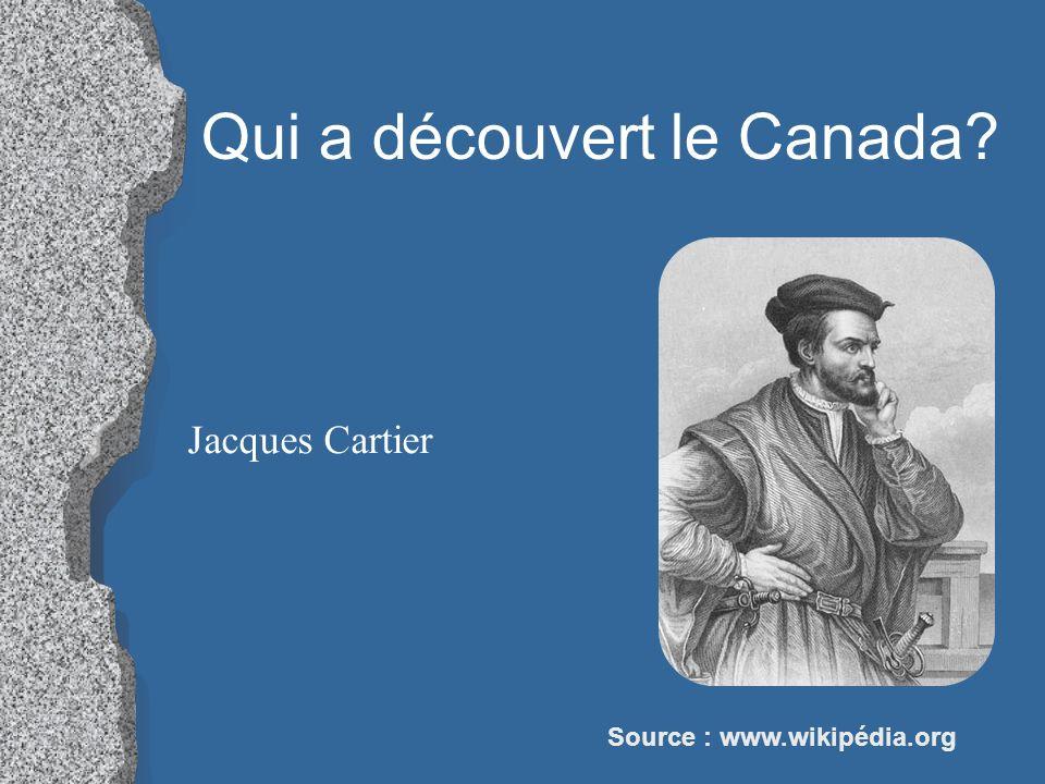 Qui a découvert le Canada