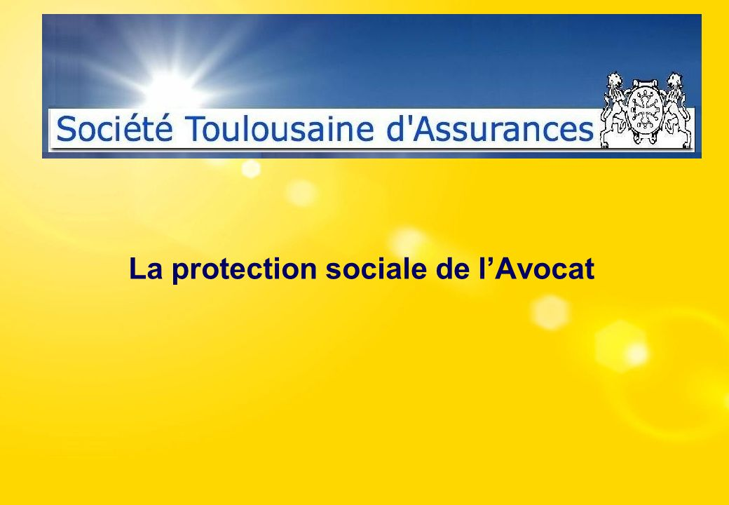 La protection sociale de l'Avocat